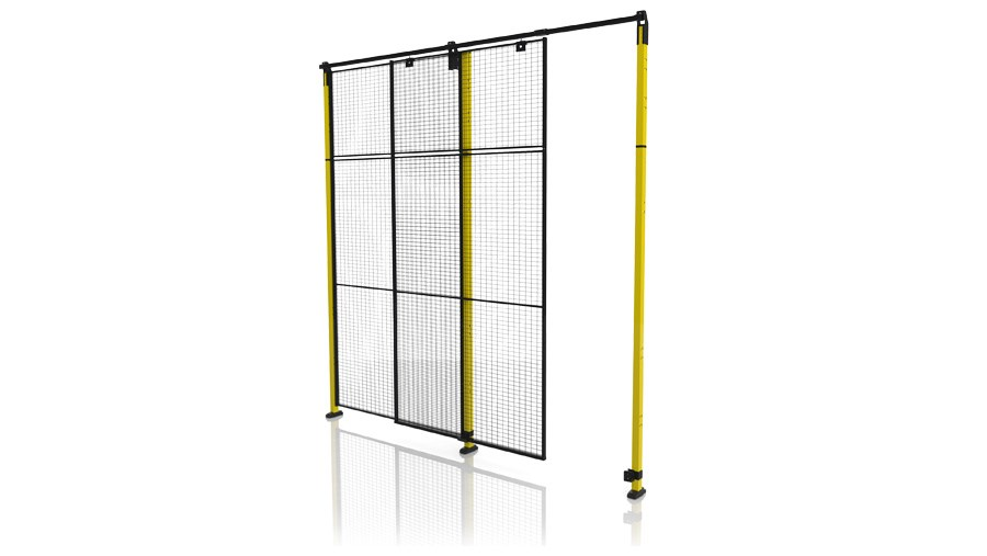 X Guard Single sliding door