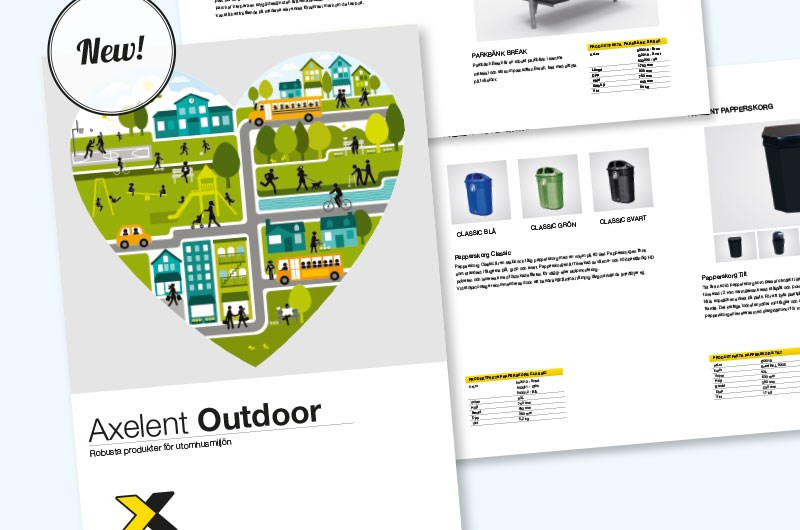 Axelent Outdoor assortment