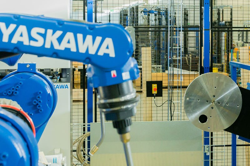 Machine guarding at Yaskawa Nordic