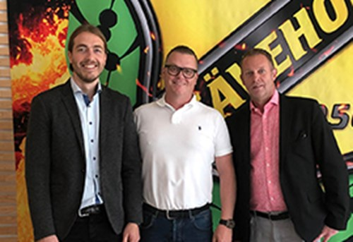Axelent is a new sponsor for the world's largest handball club