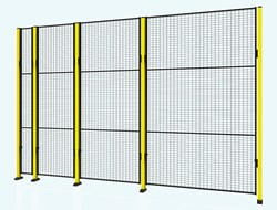 X-guard 2500 mm high panels